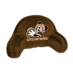 Use this Exclusive coupon code: PINFIVE to receive an additional 5% off the Cleveland Browns Mickey Mouse Kids Bed Rest Pillow at SportsFansPlus.com