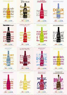 Vin France, Loire Valley Wine, Wine Advertising, Wine Poster, Saumur, Sauvignon, French Wine, In Vino Veritas, Wine And Spirits