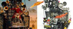 Le guitariste fou au lance-flammes de Mad Max en LEGO, ça donne ça !