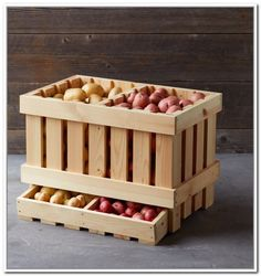 Potato Storage Container