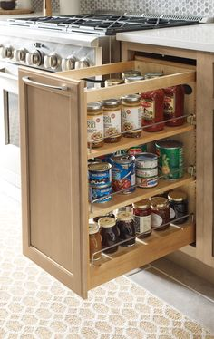 Organization is the key to a stylish kitchen. Whether you have a small or large space, Diamond has the storage you need to fit your lifestyle. Kitchen Pantry Storage, Kitchen Cupboard Designs, Kitchen Storage Solutions, Kitchen Room Design, Modern Kitchen Design, Home Decor Kitchen, Interior Design Kitchen, Kitchen Organization, Key Kitchen
