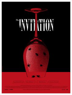 The Invitation – Poster - Canvas Print - Wooden Hanging Scroll Frame - Decor Your Home Best Movie Posters, Horror Movie Posters, Cool Posters, Horror Movies, Fan Poster, Poster On, Mind Boggling Movies, Movie Invitation, Corona