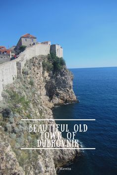 Old Town Dubrovnik. Croatia. Also where they film Game of Thrones, King's Landing #travel #croatia