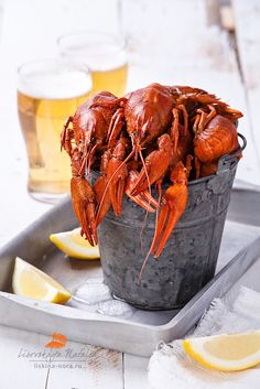 Lobsters & Beer. Any questions? No? Good. Proceed to boil (lobsters) and pour (beer). Couldn't be easier!!