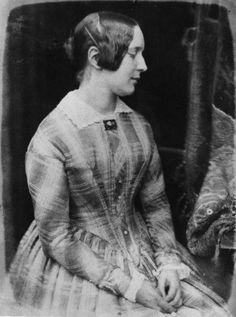 Sophia Finlay by David Octavius Hill, and Robert Adamson calotype, 1843-1848 National Portrait Gallery