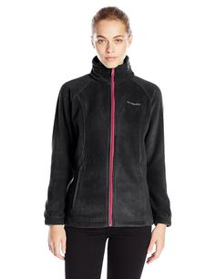 Columbia Women's Benton Springs Full-Zip Fleece Jacket Slim-cut fleece jacket with standing collar and on-seam zippered pockets Embroidered logo at left chest Full-zip front closure Coats For Women, Jackets For Women, Camping Outfits, Camping Gear, Backpacking, Columbia Sportswear, Utility Jacket, Vest Jacket, Fit Women