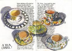 111015 Sketchcrawl 33_02 A tea crawl | Flickr - Photo Sharing!