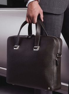 classymenstyle  Dunhill http   theimpeccablydressedmrbwooster.tumblr.com   Leather Briefcase fc3d8edf1fe03