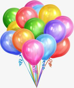 White background with colorful balloon vector - WeLoveSoLo Happy Birthday Minions, Happy Birthday Balloons, Happy Birthday Images, Happy Birthday Greetings, Birthday Wishes, Birthday Cards, Image Ballon, Ball Birthday Parties, Holidays Events