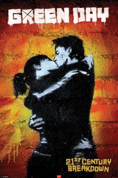 Green Day - 21st Century Breakdown Poster