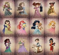 Princesas kids