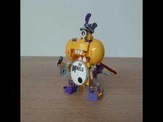 LEGO MIXELS MIXIES MAX Instructions Mixels Series 7 Jamzy Tapsy Trumpsy