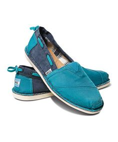 Love this Turquoise & Navy Bimini on #zulily! #zulilyfinds