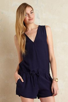 Anthropologie EU Second Female Twig Playsuit