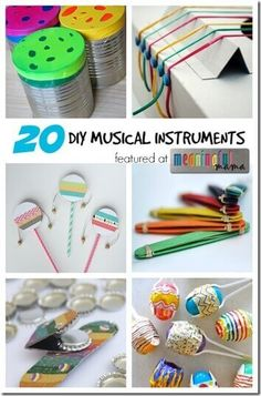 20 Homemade Musical Instruments