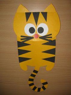 Kočka - závěsná dekorace na šňůru