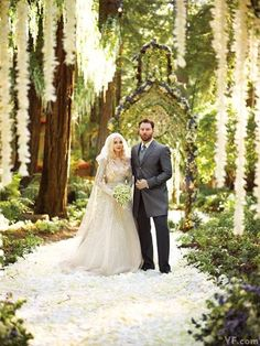 In never-before-seen photos, the fairytale wedding and medieval-inspired guest attire at Sean Parker and Alexandra Lenas's nuptials.