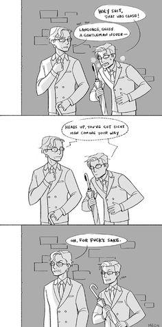 Kingsman comic Harry & Eggsy