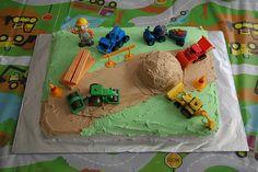 Bob The Builder Cake by Bob Reck, via Flickr