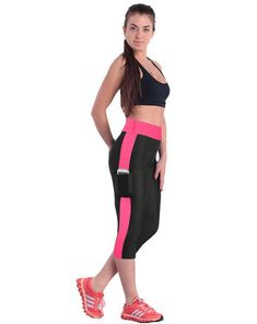 269c8799c8bc New Fashion Pockets Capris High Waist Stretched Leggings Fitness for women.
