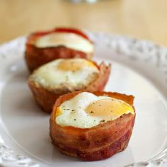 Bacon & Egg Toast Cups