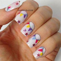 birthday nails 7