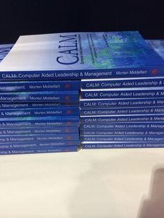 We're stacking the #CALM Philosophy books; the source for #BigData Analytics we apply at http://SocialQuant.net  ;-)