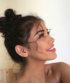 21 Cute Messy Buns for a Relaxing Day, Hair makeup Unless you have been living under a rock I am sure you are well aware the hair scrunchie trend is b… - Dinnerrecipeshealthy sites Cute Messy Buns, Messy Updo, Messy Bun Curly Hair, Beauty Makeup, Hair Beauty, Hair Inspo, Pretty Face, Pretty People, Natural Makeup