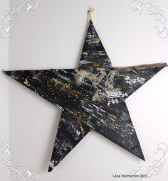 DIY - Wooden Christmas Star