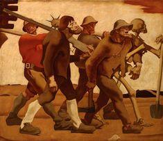"Albin Egger-Lienz, ""Danse Macabre fifth edition"", 1921 (lender: R. Maria Altmann, Dance Of The Dead, Tyrol Austria, Danse Macabre, Museum, World War One, Artist Art, Castle, Superhero"