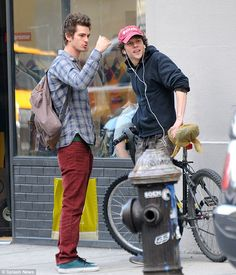 Andrew Garfield and Jesse Eisenberg