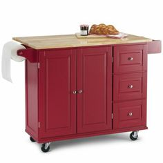 sandrasandra lee kitchen cart - granite top $169 | furniture