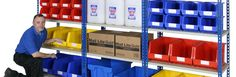 In stock shelving and warehouse storage solutions from Avanta UK Ltd that are available in a 5 working day lead time. Shelving Systems, Industrial Shelving, Storage Solutions, Lockers, Locker Storage, Furniture, Home Decor, Industrial Shelves, Decoration Home