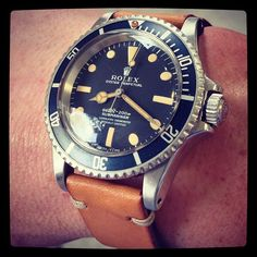 Rolex Submariner 5512 Steve Mcqueen vintage watch