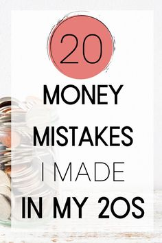 I've made my fair share of money mistakes in my 20s. Here is a list of the 20 worst decisions that I made with money in my 20s so that you don't have to make the same mistakes. Learn how to better use credit cards for your benefit and learn the best credit card hacks. Use these tips to get out of debt faster and earn financial freedom. I discovered in my 20s the important of investing early and the basics of investing. I also share tips on budgeting. #millennialmoney #debtfreedom Financial Tips, Financial Literacy, Financial Planning, Budgeting Finances, Budgeting Tips, Credit Card Hacks, Credit Cards, Money Tips, Money Hacks