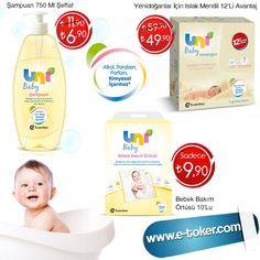 Bebeği için en doğal ve sağlıklı ürünleri seçen annelerin tercihi Uni Baby ürünleri , en uygun fiyatlarla www.e-toker.com'da !  ✿ Bebeğinizin hassas teni için özenle üretilmiştir...<3  ● Uni Baby Şampuan 750 Ml Şeffaf 6,90 TL ; http://www.e-toker.com/Uni-Baby-Sampuan-750-Ml-Seffaf-2865  ● Uni Baby Yenidoğanlar İçin Islak Mendil Pamuk 12 li Avantaj 49,90 TL ; http://www.e-toker.com/Uni-Baby-Yenidoganlar-Icin-Islak-Mendil-Pamuk-12-li-Avantaj-2883  ● Uni Baby Bebek Bakım Örtüsü 10'Lu 9,90 TL !