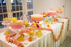 desert buffet from an Indian fusion wedding