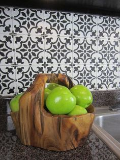 how to stencil a faux tile backsplash, how to, kitchen backsplash, kitchen desig. Diy Tile Backsplash, Faux Brick Backsplash, Wallpaper Backsplash Kitchen, Rustic Backsplash, Herringbone Backsplash, Joanna Gaines, Beautiful Kitchens, Cool Kitchens, Faux Brick Panels