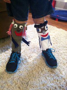 Crazy sock day awanas