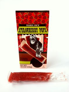 Trader Joe's Strawberry Pops.