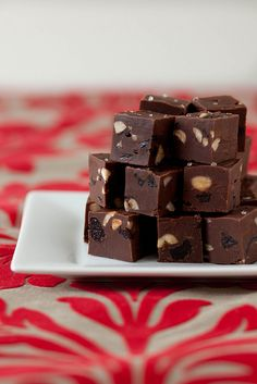 nutella cherry hazelnut fudge by annieseats, via Flickr