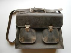 MrJones's Briefcase Genuine Leather Briefcase by 74streetbags, $139.00