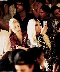 Iggy Azalea. Nicki Minaj.