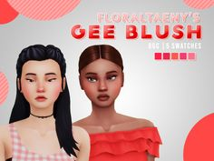 FLORALTAENY'S 3K FOLLOWER GIFT PACKPARADISE DRESS• 14 swatches• Base game compatibleSOWON HAIR• 18 swatches• Base game compatibleGEE BLUSH• 5 swatches• Base game compatibleAERYN LAZULI• 5 swatches (lol jk u can get her on my origin id:...