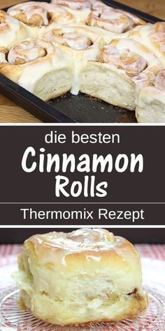 The best cinnamon rolls ever. - These American cinnamon buns . - The best cinnamon rolls ever. – These American cinnamon rolls taste like cinnabon, a dream made o - Cinnabon, Easy Cake Recipes, Dessert Recipes, Cream Cheese Topping, Best Cinnamon Rolls, Food Cakes, Food Porn, Easy Meals, Food And Drink