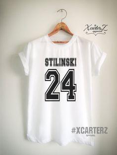 Stilinski Shirt STILINSKI 24 T-Shirt Print on Front or by XcarterZ