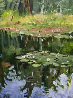 Water Lilies by Darlene Young