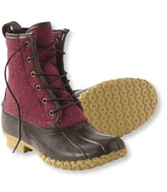 maroon bean boots? yes please!