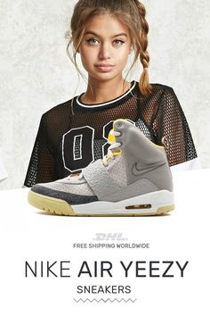 half off 509a0 d6c63 How to get womens size Nike Air Yeezy Air Yeezy Zen Gray sneakers