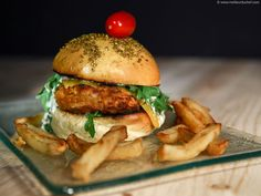 Burger Original, Maine, Brunch, Chicken, The Originals, Ramadan, Cooking, Ethnic Recipes, Simple
